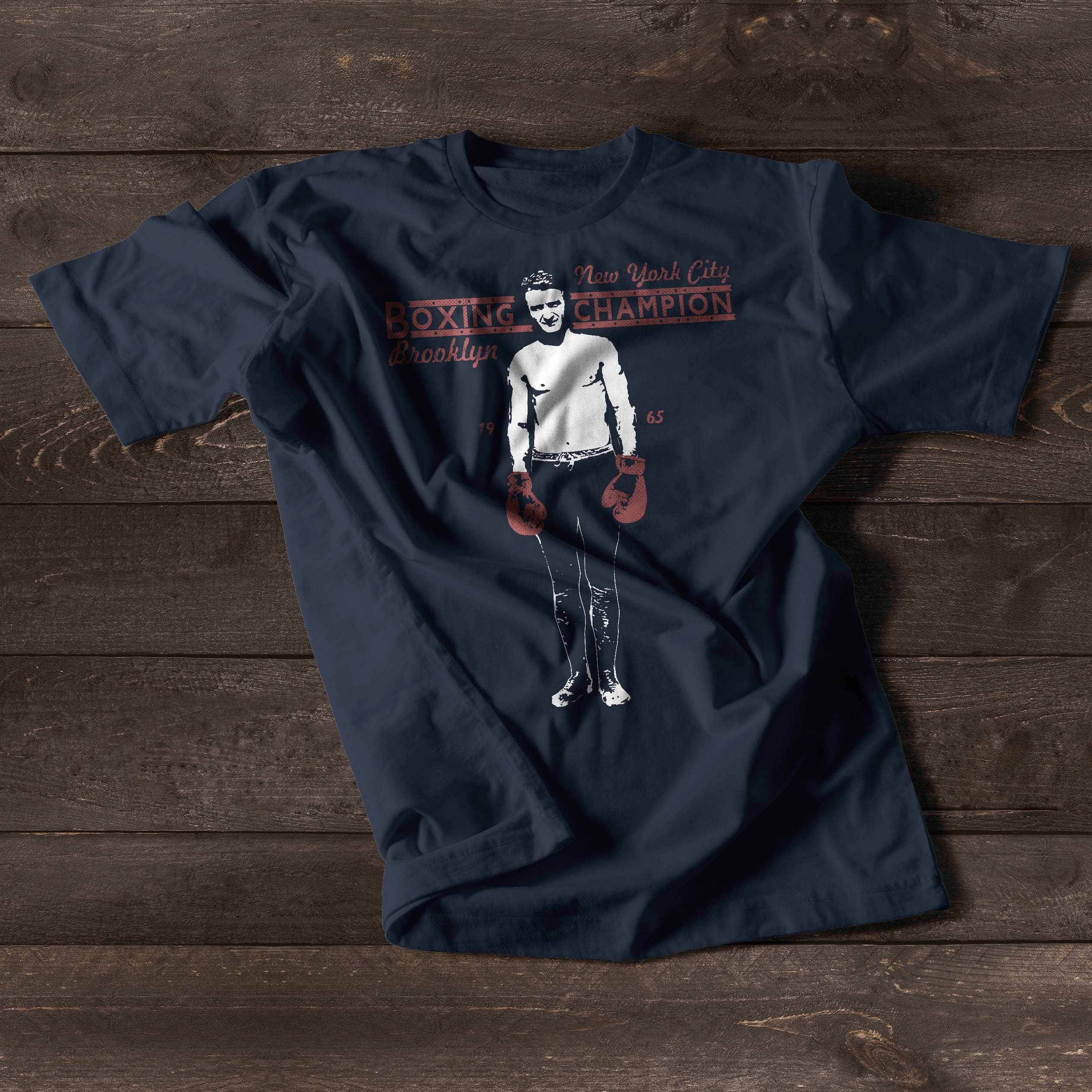 Boxing Gloves Tshirt For Men Shirt With Boxing Gloves
